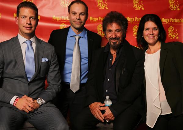 JT Foxx, Patrick Béland, Al Pacino et Chantal Ducharme
