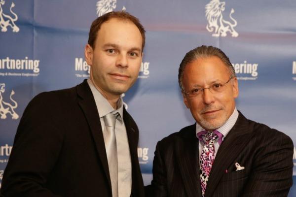 Patrick Béland et Jay Abraham